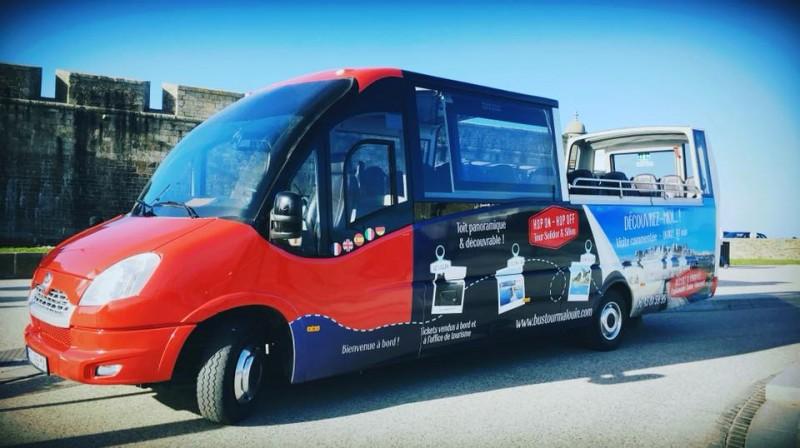 visiter saint malo bus tour panoramique comment e hop on hop off. Black Bedroom Furniture Sets. Home Design Ideas
